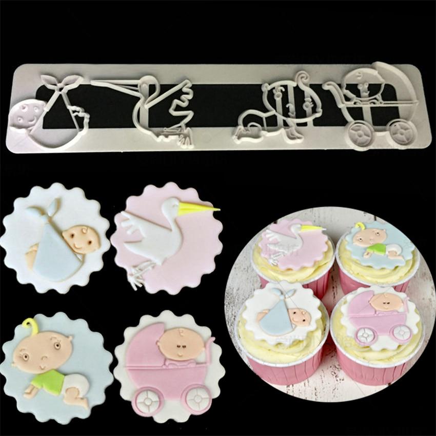 Luyou мультяшный замок детская пластиковая режущая форма инструменты для украшения тортов из мастики Форма для печати печенья кухонные инстр...