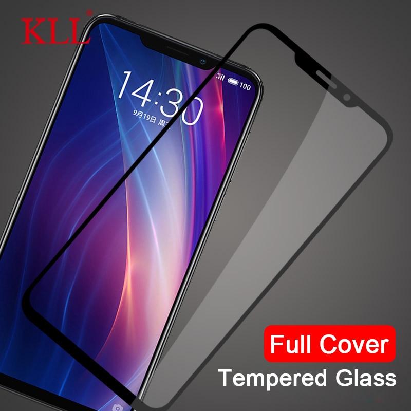 풀 Cover 강화 (gorilla Glass) 대 한 Meizu X8 주 8 M6S M3s Mini M5s M5 M3 M6 Screen Protector 대 한 Meizu 16 일 양해 각서 16X 보호 (gorilla Glass)