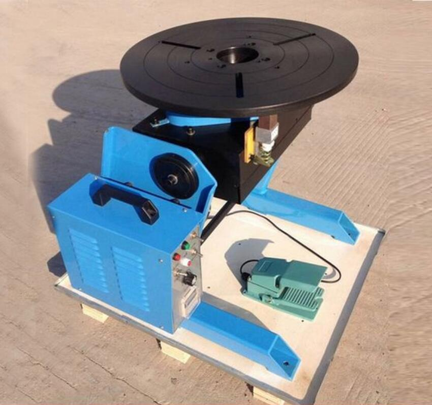 HD-100 mesa giratoria de soldadura posicionadora de 100KG sin mandril