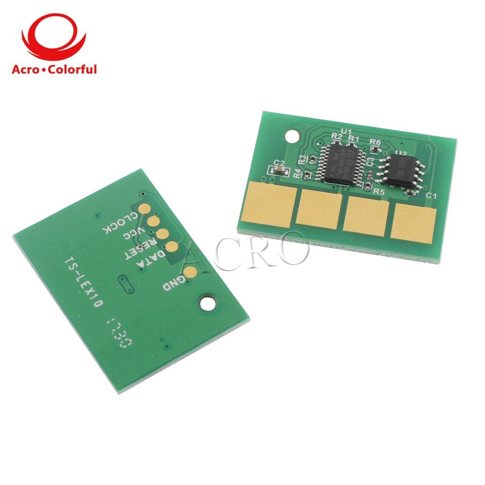36 K todo el mundo versión Universal chip reajuste para Lexmark T650n T652dn T654n T656 X651 para IBM Infoprint 1832 impresora láser