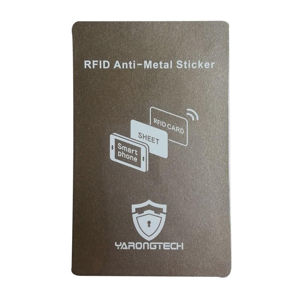 RFID Anti-Metal Sticker,Stick on RFID Card Read On Metal Cell Phone Work