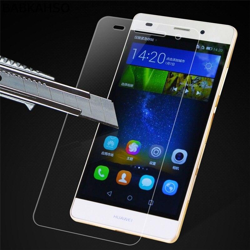 Hot 2pcs for Huawei P8 Lite glass Premium Tempered Glass for Huawei P8 Lite Screen Protector Film For Huawei P8 Lite Glass