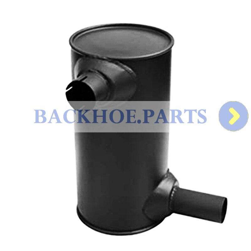 Silenciador 6208-11-5210 para excavadora Komatsu PC130-7 PC138US-2 PC138US-2E motor SAA4D95LE