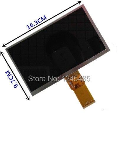 Nueva pantalla LCD Original de 7 pulgadas 163*97 7300101463 E231732 HD 1024*600 para Cube U25GT lcd pantalla