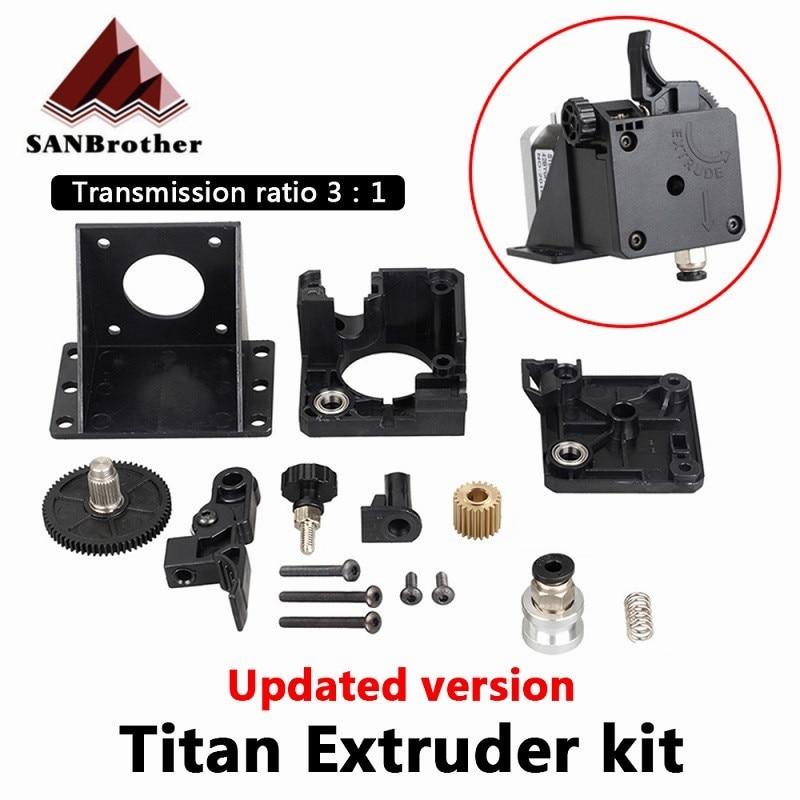 Детали для 3D-принтера Titan экструдер, полный комплект для V6 J-head Bowden Монтажный кронштейн 1,75 мм нить E3D V6 Hotend 31