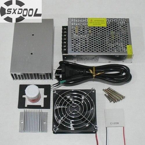 ¡Refrigeración SXDOOL! sistema de refrigeración DIY Pro sistema de refrigeración Kit de disipador de calor Peltier enfriador TEC1-12706