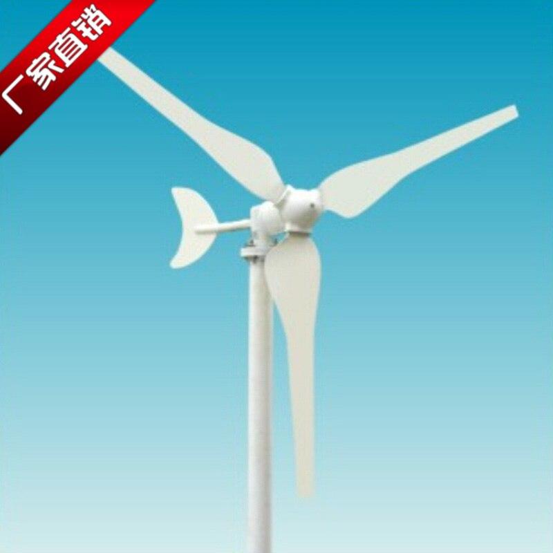 50W Wind Turbine Household 12V Small Generator Microgenerator Motor Wind Energy 24V