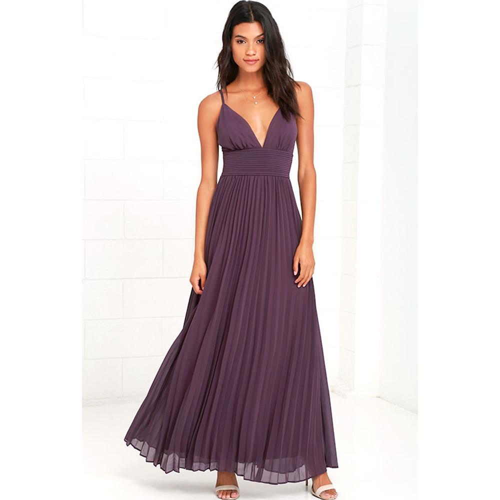 AliExpress - 2021 Summer Casual Big Size Elegant Sleeveless Maxi Party Dress Women Office Work Pleated Dresses Plus Size Women Clothing