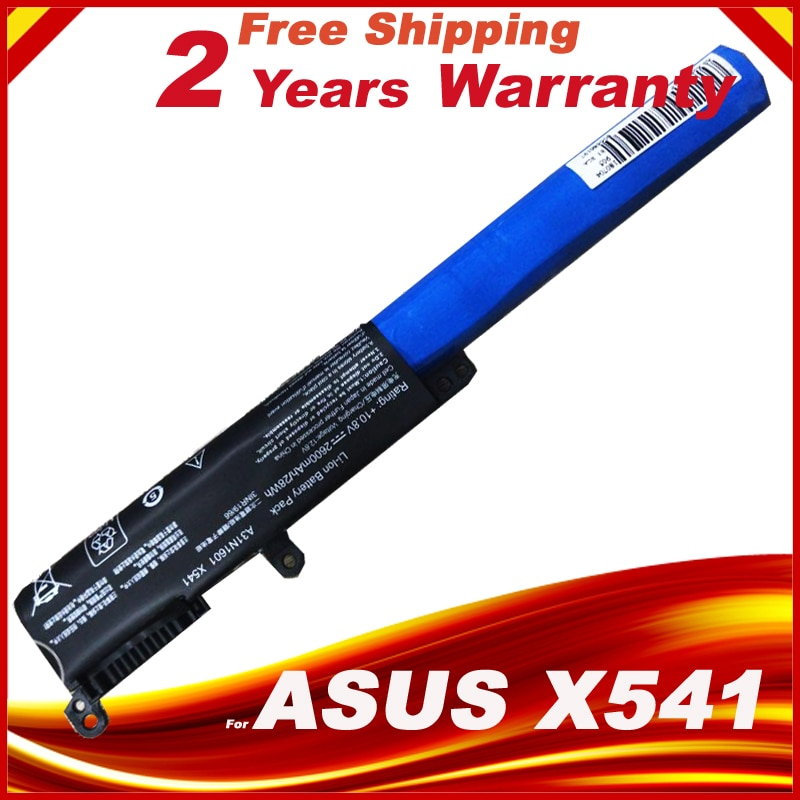 Batería de ordenador portátil para ASUS VivoBook Max X541SC X541U X541SA A31N1601 A31LP4Q