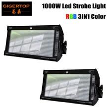 2 lumière stroboscopique de LED de lunité 1000W 800 rvb pour le Flash de lumière de dj