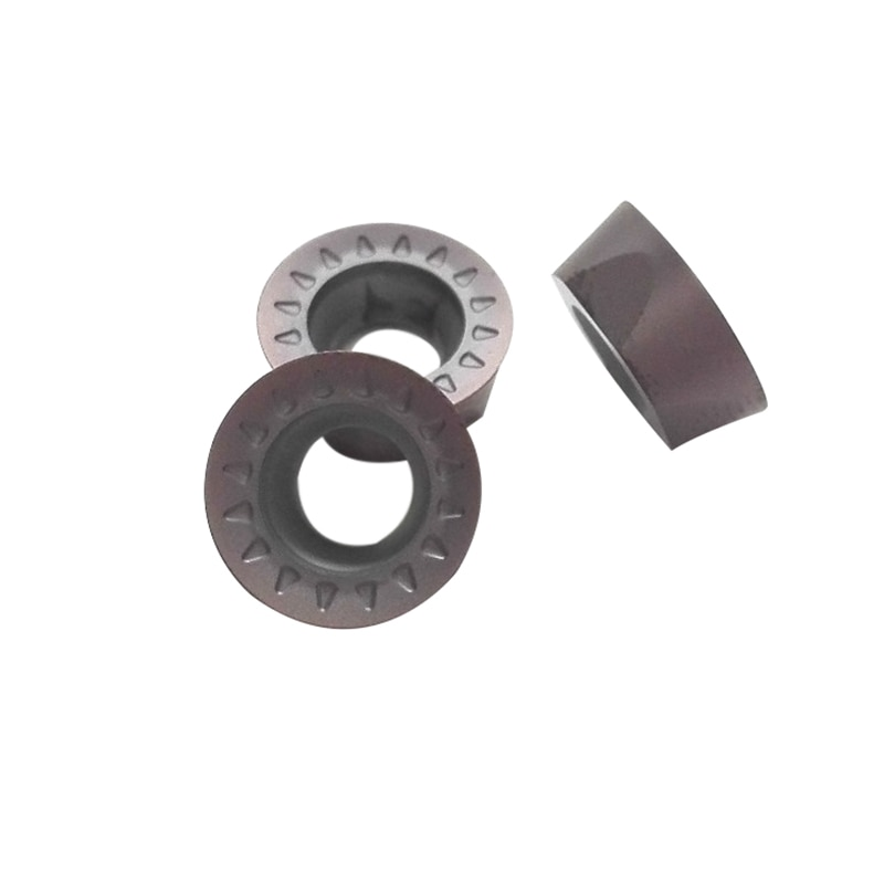 10 stks RPMT08T2MOE JS VP15TF Hardmetalen frees draaibank mill gereedschap