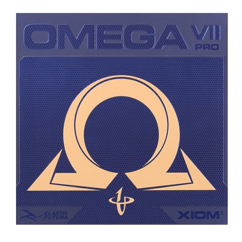 Original Xiom Omega Vii Pro raqueta de tenis de mesa goma Ping Pong caucho Hecho en Alemania