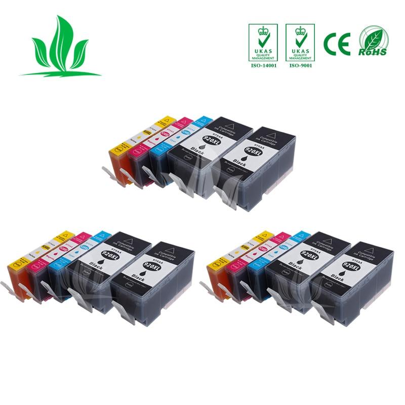 15 Uds 920XL Compatible hp 920 hp 920xl hp 920 cartucho de tinta para hp officejet 6000 6500 7000 7500A impresora