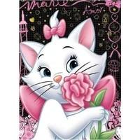 Peinture diamant theme dessin anime  broderie complete 5D a faire bricolage-meme  points de croix  strass carres  Kits de points de croix  decoration de la maison  chats  chats  aristochats
