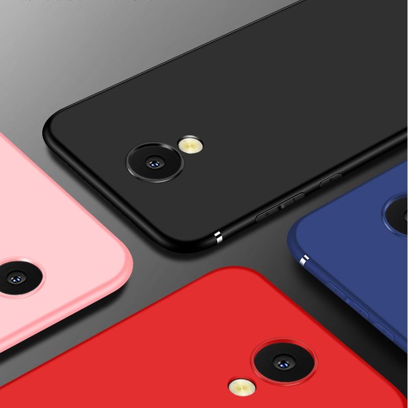 Funda suave de TPU para Meizu M6 M711h, carcasa negra con pantalla mate, funda trasera de piel para Meizu S6 Meizu M6T, carcasa completa para teléfono