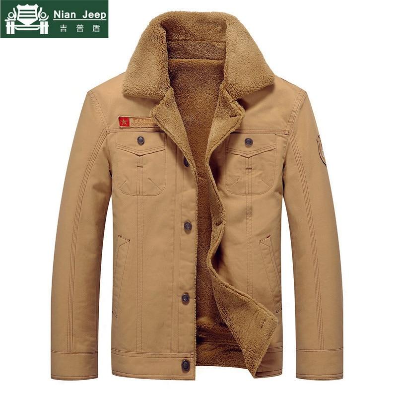 Gran oferta 2020 chaquetas de invierno para hombre, chaqueta Bomber militar del ejército, chaqueta para hombre, chaqueta piloto de algodón con cuello de piel para hombre, chaqueta de talla grande M-6XL