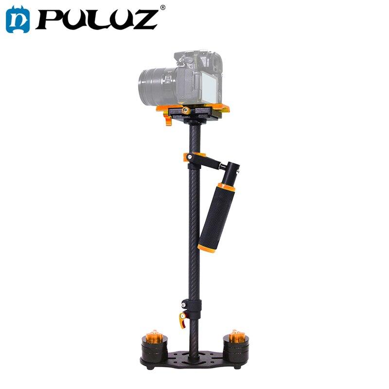 Estabilizador de cámara portátil de fibra de carbono PULUZ 38,5-61 cm para videocámara DSLR Video DV GoPro soporte de cámara Glidecam Steadicam