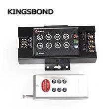 12 V-24 V LED RF 8 clé rvb contrôleur gradateur interrupteur tactile pour LED bandes lumineuses