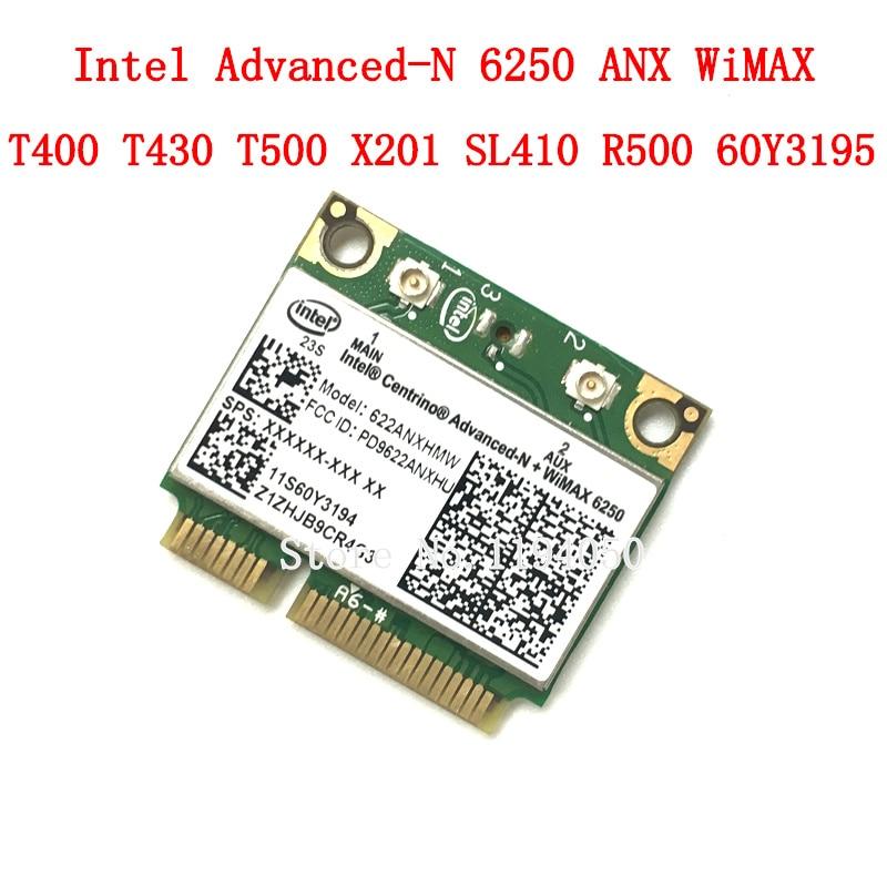 Original intel6250 6250AN 300Mbps inalámbrico WiFi tarjeta IBM/Lenovo/Thinkpad avanzadas Intel-N 6250 ANX FRU 60Y3195