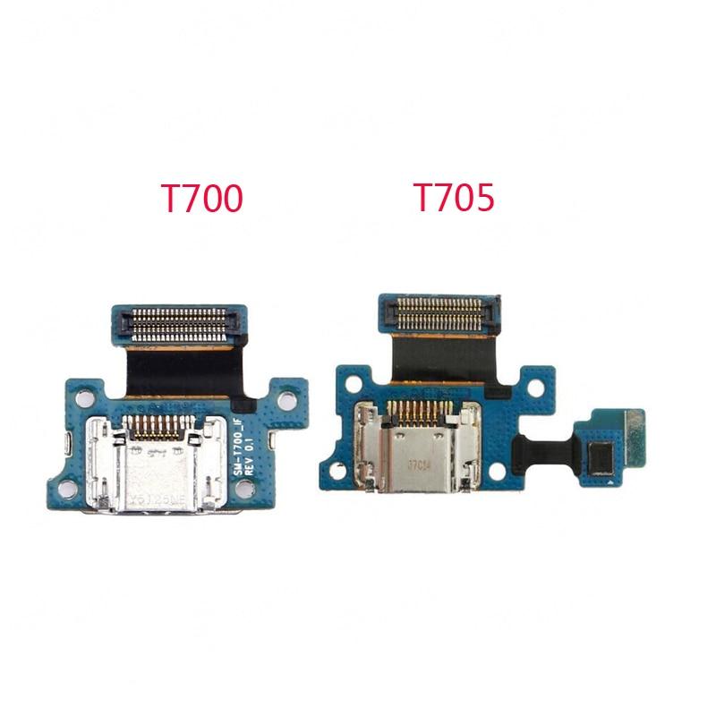 Para Samsung Galaxy Tab S 8,4 SM T705 T700 Usb Board 100% nuevo enchufe USB carga de Cable Flex PCB