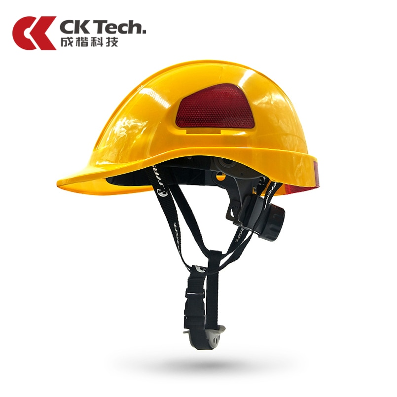 Casco de seguridad CK Tech ABS + PC, gorro de trabajo para construcción de electricista, aislamiento de cascos Anti baja temperatura, sombrero duro de alta resistencia