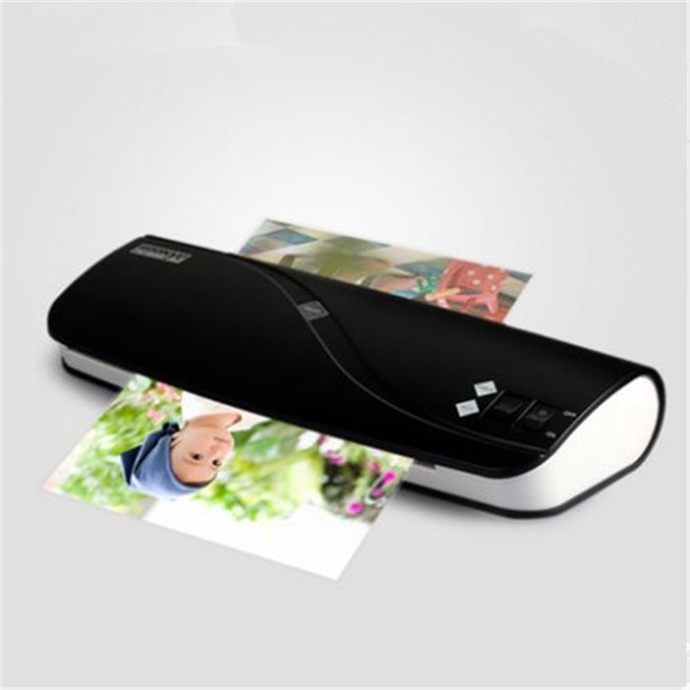 Фотоламинатор A4 для бумаги, пленка для документов, термоламинатор для горячего и холодного ламинирования А4