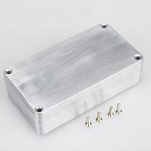 1590B Style effets pédale aluminium Stomp boîte enclos guitare instruments de musique étuis de rangement accessoires de guitare