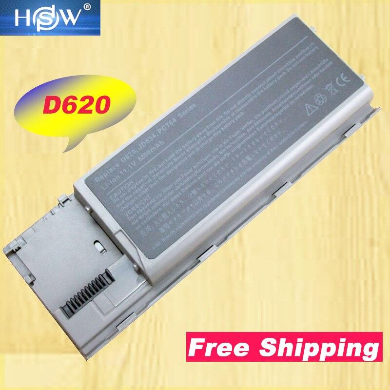 HSW Аккумулятор для ноутбука DELL Latitude D620 D630 D631 D640 PC764 батарея GD775 JD610 KD492 GD776 451-10298 0KD491 0KD494 батарея