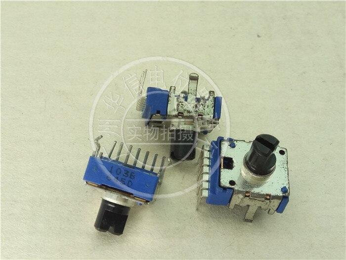 3 uds. Para ALPS 142 potenciómetro doble C20K/reostato vertical longitud del mango 8MMF/7 pies
