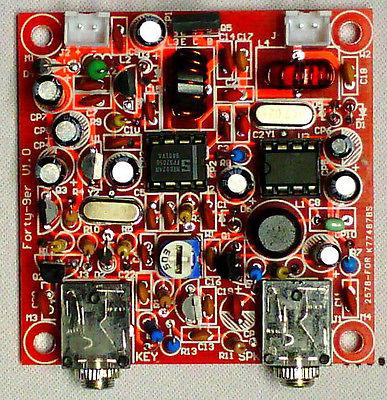 Набор для самостоятельной сборки, приемопередатчик для радиопередатчика, 3 Вт, HAM, QRP, CW, HF, 7,023 МГц