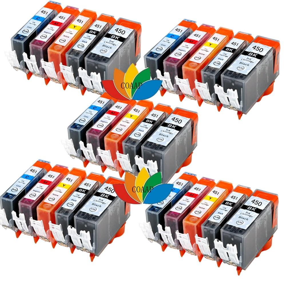Совместимый чернильный картридж 25 PGI450 CL451 для CANON PGI 450/CLI 451 для Pixma MX722 MX724 MX922