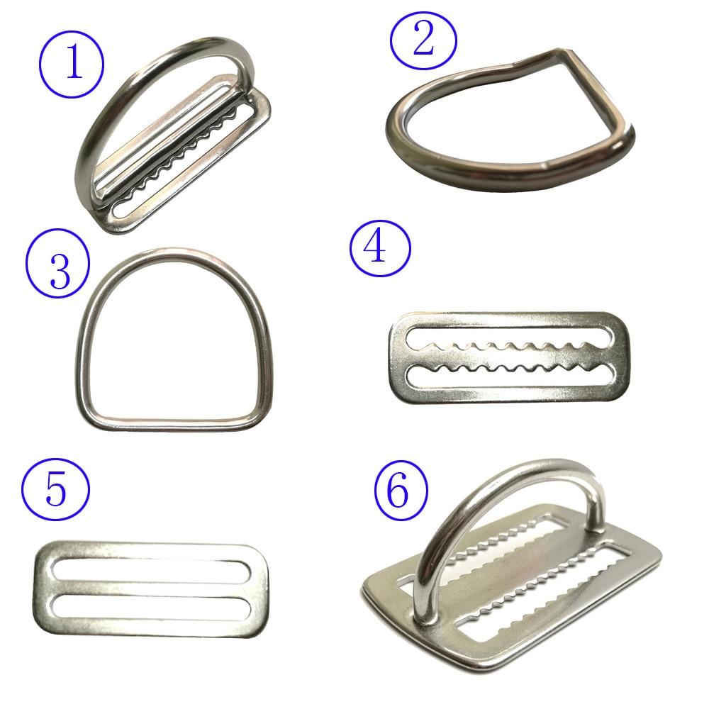 Mbajtës rrëshqitës për rripin e peshës së zhytjes në çelik