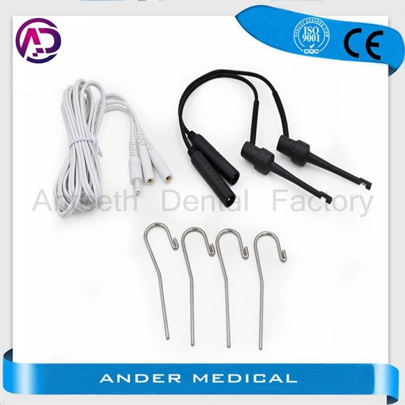 Woodpecker Morita, Cable de medición endodoncia, localizador apico, cables de medición, cables de sonda, cables de sujeción para documentos, Clip de labio