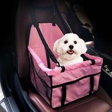Oxford-sac de transport pour chien chat   Sac de transport, Oxford pliable et respirant avec ceinture, protecteur de voiture, maille, boîte de couchage pour chiot, lit dextérieur, petit