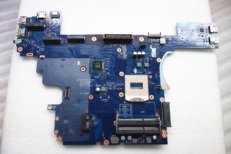 Подходит для Dell E6540 Материнская плата ноутбука LA-9414P DDR3 CN-0H8XNK 0H8XNK 0H8XNK 100% рабочий