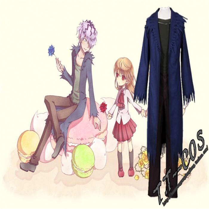 Ib garry cos anime festa cosplay uniforme unisex terno roupas