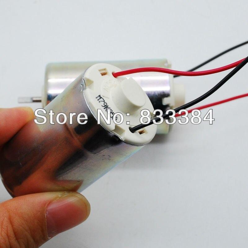 5 uds. Venta al por mayor 5 uds. 12V 24 Epson micro motor de corriente continua para impresora DIY generador de flujo de viento a mano gran par envío gratis