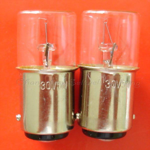 New!miniature Bulbs Lamps 30v 5w Ba15d T16x36 Free Shipping A585