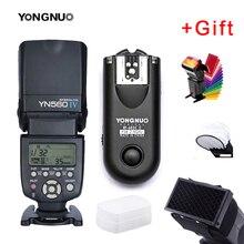 Yongnuo YN560IV YN560 IV YN 560 Flash Speedlite für Canon Nikon Olympus Pentax Mit YongNuo RF603 II Wireless Flash Trigger