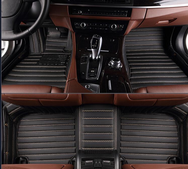 Qualité supérieure   Tapis de sol imperméables et personnalisés   Pour Mercedes Benz C Class coupé 2 portes 2014-2011, livraison gratuite
