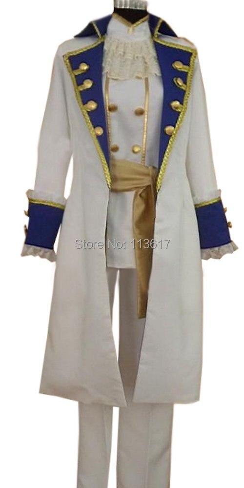APH Axis Powers, Hetalia, Austria, uniforme, disfraz Cosplay, nuevo conjunto