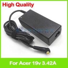 19 V 3.42A ac adaptateur chargeur pour ordinateur portable pour Acer Aspire 4755ZG 4771G 4771Z 4810TG 4810TZ 4820G 4820TG 4820TZ 4830G 4830TG 4830TG