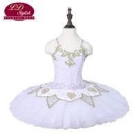 children white ballet tutu the sleeping beauty performance stage wear girls ballet dance competition costumes kids ballet skirt