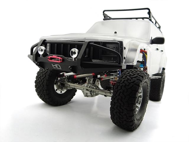 Алюминиевый передний бампер с креплением лебедки для 1/10 TRAXXAS Trx-4 TRX4 SCX10 II 90046 90047