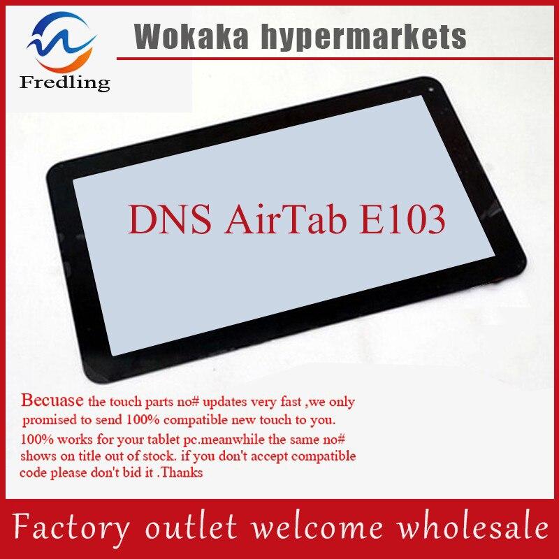 Digitalizador de pantalla táctil Original para tableta 10,1 pulgadas DNS AirTab E103 Panel táctil de vidrio de sustitución con sensor envío gratis