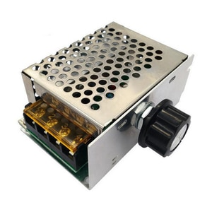 4000W 220V AC SCR Voltage Regulator Motor Speed Controller Temperature Control Switch Dimmer for Motor Water Heater LED Light
