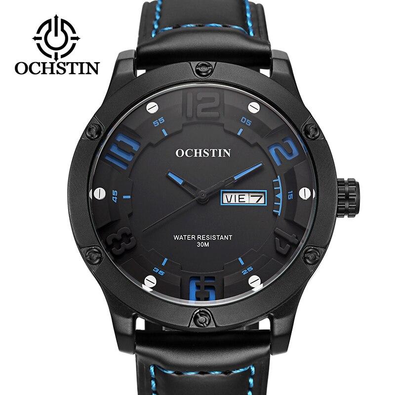 OCHSTIN 2019 männer sport armbanduhr luxus marke wasserdicht quarz uhr military minimalistischen unisex handgelenk einzigartige für geschenke
