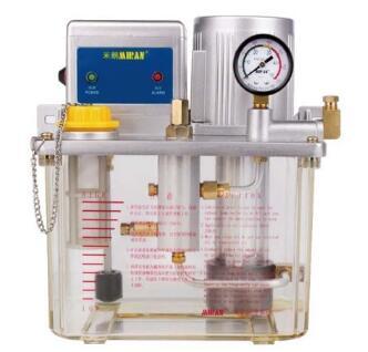 Bomba de lubricación semiautomática Miran MRG-3202-310X 3L ambos usados para grasa de aceite tipo volumétrico con mecanismo de despegue a presión
