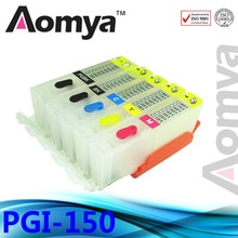 Avec puce! PGI-150/CLI-151 cartouche rechargeable vide pour CANON PIXMA MG5410/MG5510/MG5610/MG6310/MG6610/MG7110/MG751/IP7210