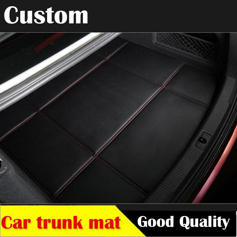 Alfombrilla de cuero para maletero de coche para Mercedes Benz B180 C200 E260 CL CLA G GLK300 ML S350/400 clase tapete decorativo para coche forro de carga